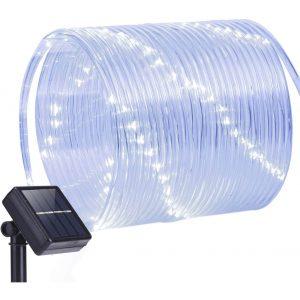 Oak Leaf Outdoor Solar String Lights
