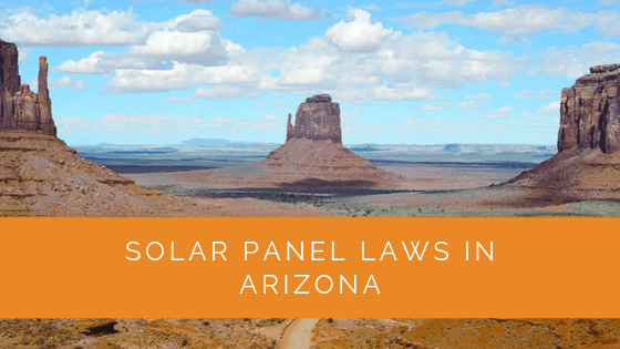 Solar Panel Laws in Arizona
