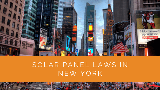 Solar Panel Laws in New York