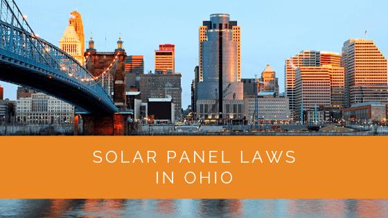 Solar Panel Laws in Ohio