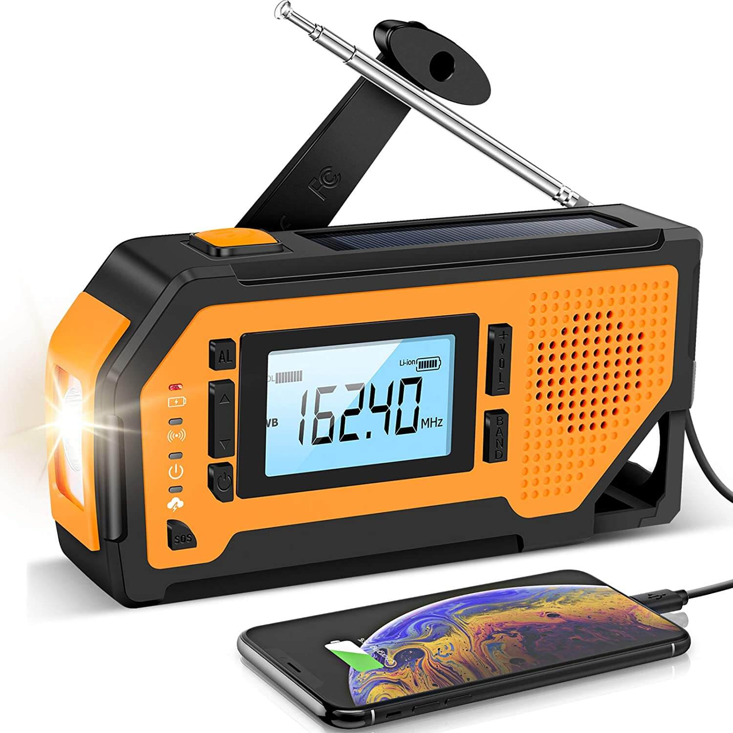 Aiworth Emergency Solar Hand Crank Radio