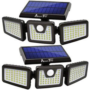 AmeriTop 128 LED 800LM Solar Flood Light