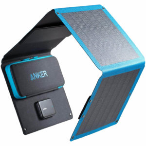 Anker 24W 3-Port USB Portable Solar Charger