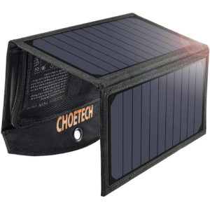 CHOETECH 19W Solar Power Bank