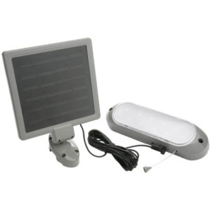Designers Edge L-949 Rechargeable Solar Shed Light
