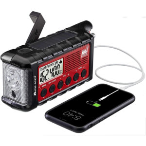 Midland ER310 Emergency Crank Weather AM FM Radio