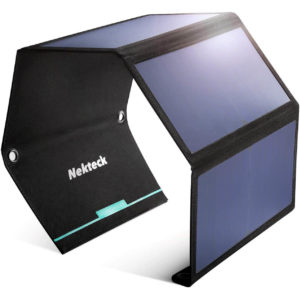 Nekteck 28W Foldable Portable Solar Charger