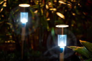 Night Solar Path Lights