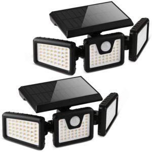 Otdair Solar Security Lights