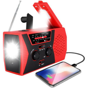 RegeMoudal Upgraded Emergency Solar Hand Crank Radio