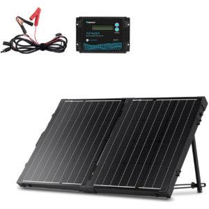 Renogy 100 Watt 12 Volt Monocrystalline Off Grid Portable Foldable Solar Panel