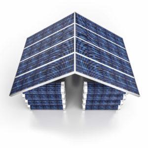 Solar Power Building