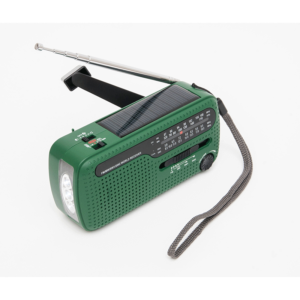 Solar Powered Crank Radio