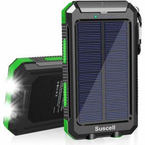 Suscell Portable Solar Power Bank