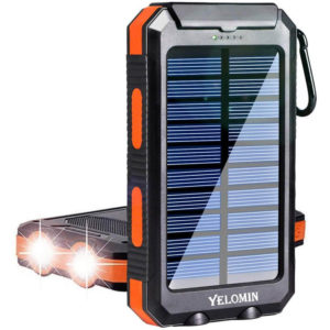 YELOMIN 20000mAh Portable Outdoor Solar Power Bank
