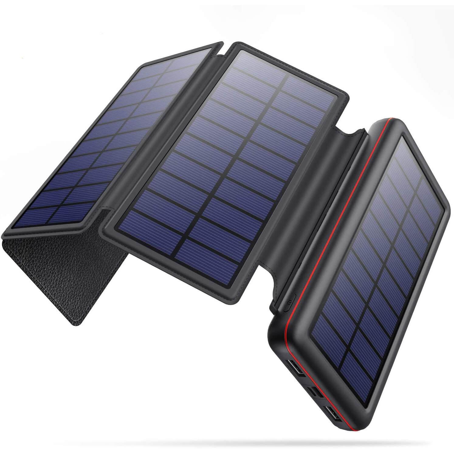 YHO 26800mAh Solar Power Bank