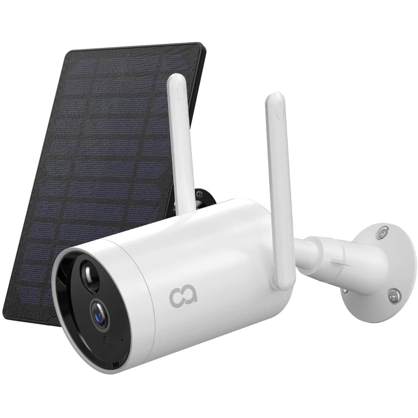 COOAU Wireless Solar Powered Rechargeable Battery Camera