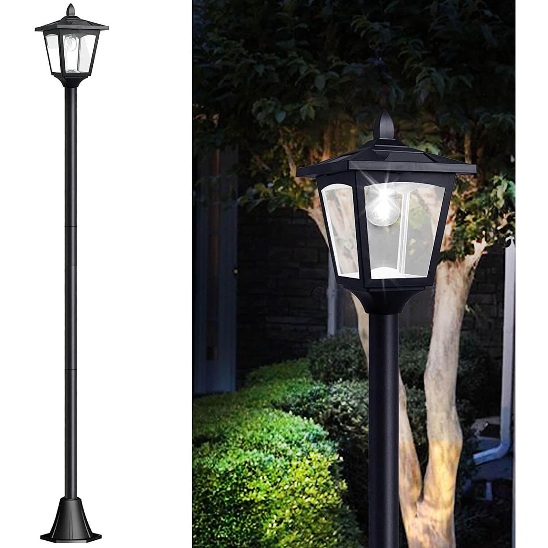 Greluna 67″ Solar Lamp Post Lights