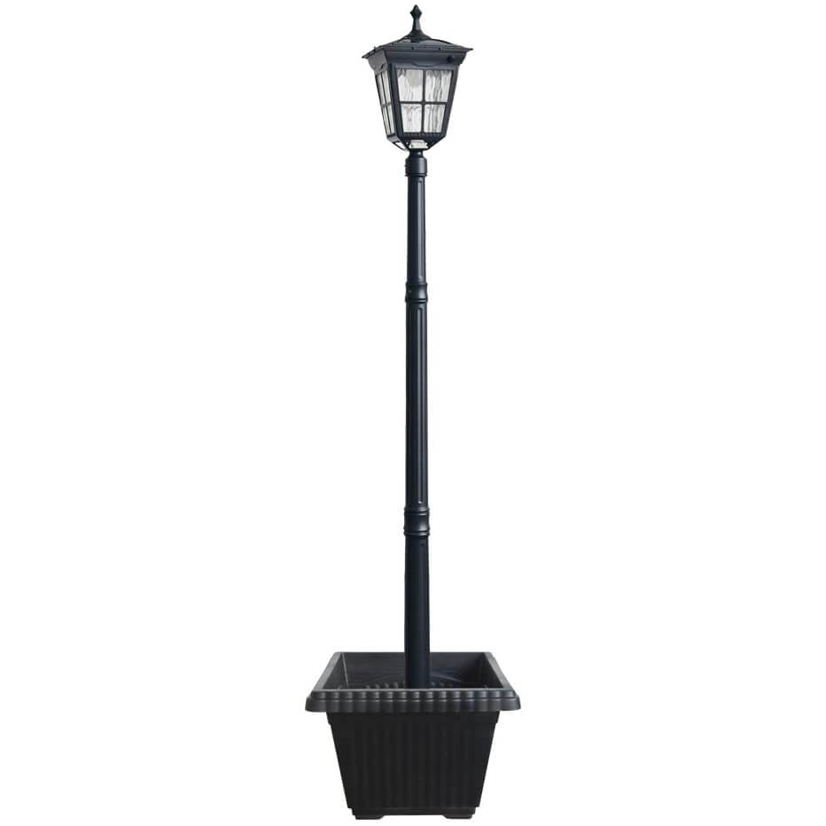 Kemeco ST4311AHP LED Cast Aluminum Solar Lamp Post