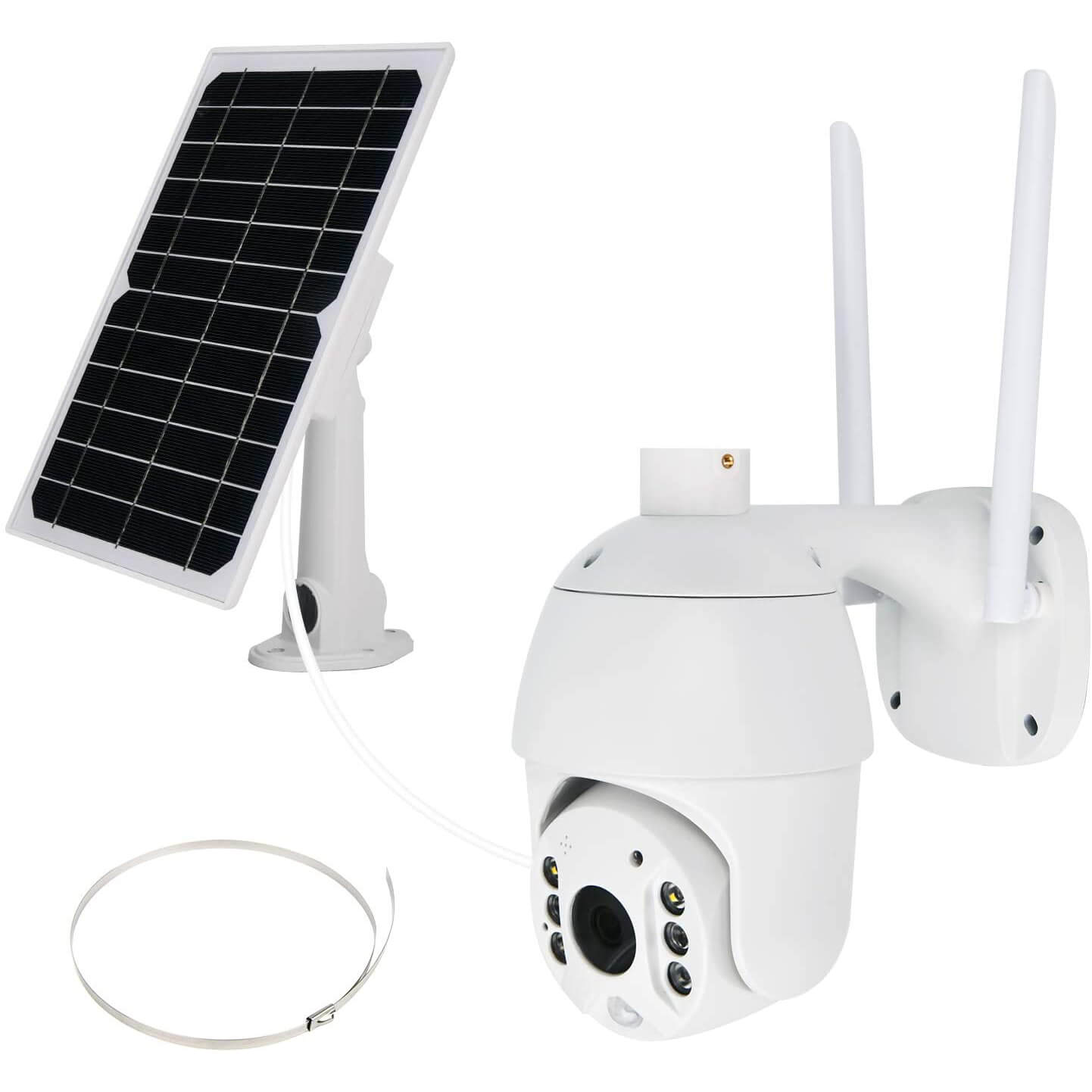 NuCam Solar Powered PTZ WiFi Security Camera
