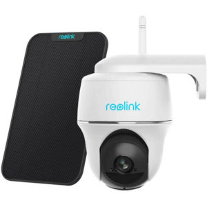 Reolink Argus PT Wireless Pan Tilt Solar Powered WiFi Security Camera System