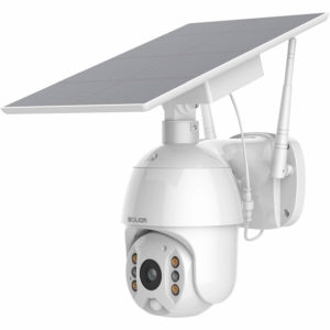 SOLIOM Solar Battery Powered Home Security Camera