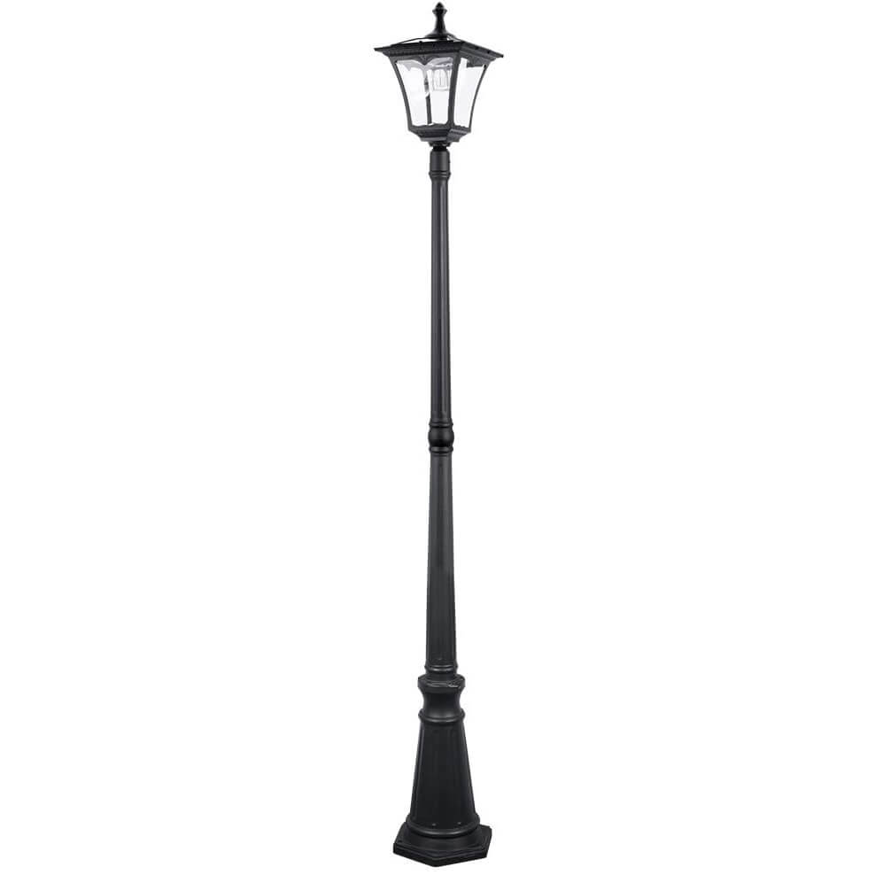 Sterno Home GL42309 Upgraded Version Outdoor Solar LED Post Light