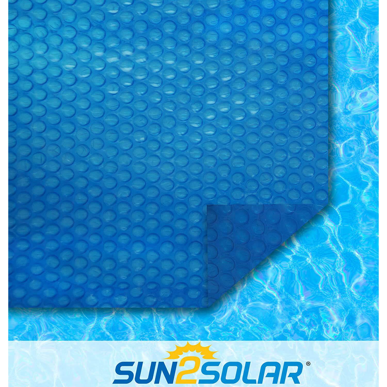 Sun2Solar Blue Round Solar Cover