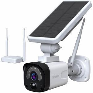 TOGUARD Solar Battery Powered Security Camera