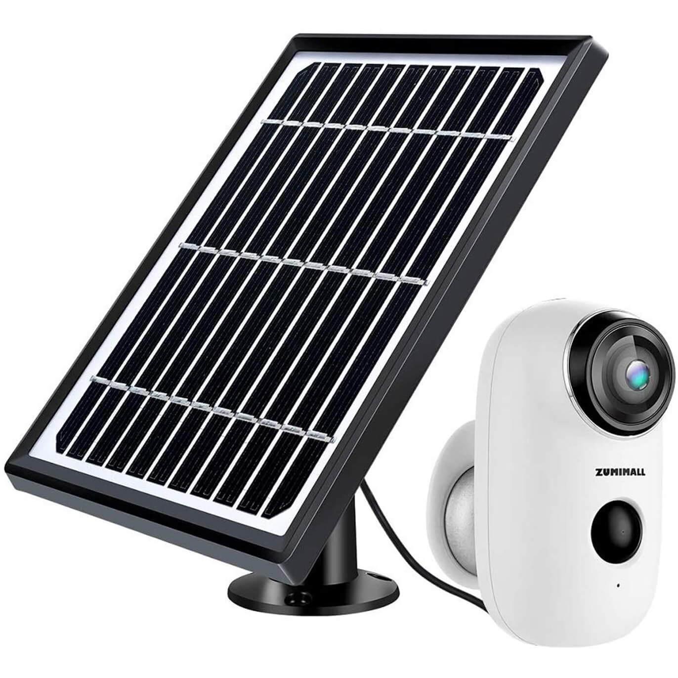 ZUMIMALL Solar Powered Surveillance Camera