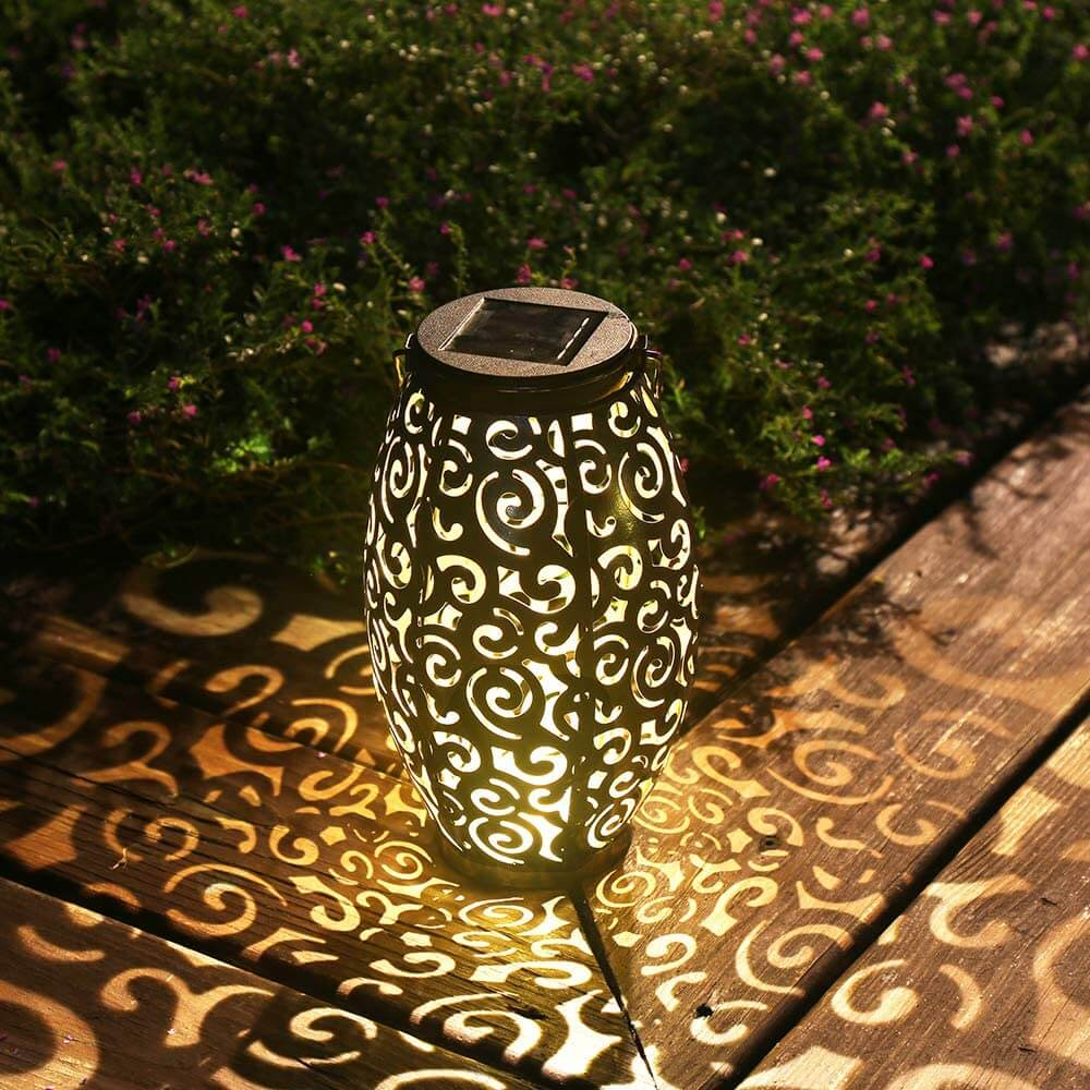 Esgarden Outdoor Hanging Solar Lantern