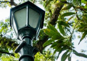 Garden Solar Lamp Post