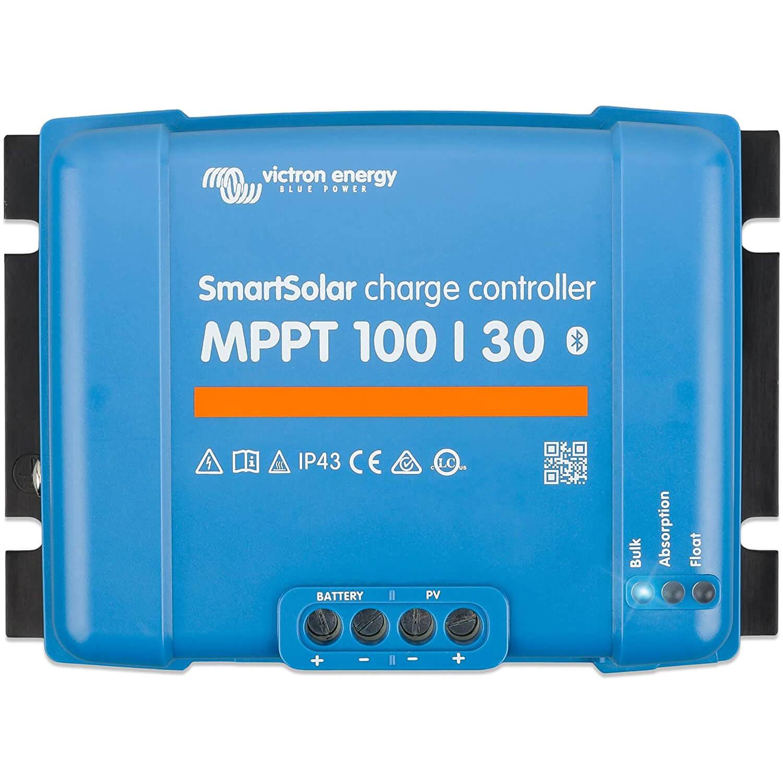 Victron Energy SmartSolar MPPT 100V 30 amp 12/24-Volt Solar Charge Controller