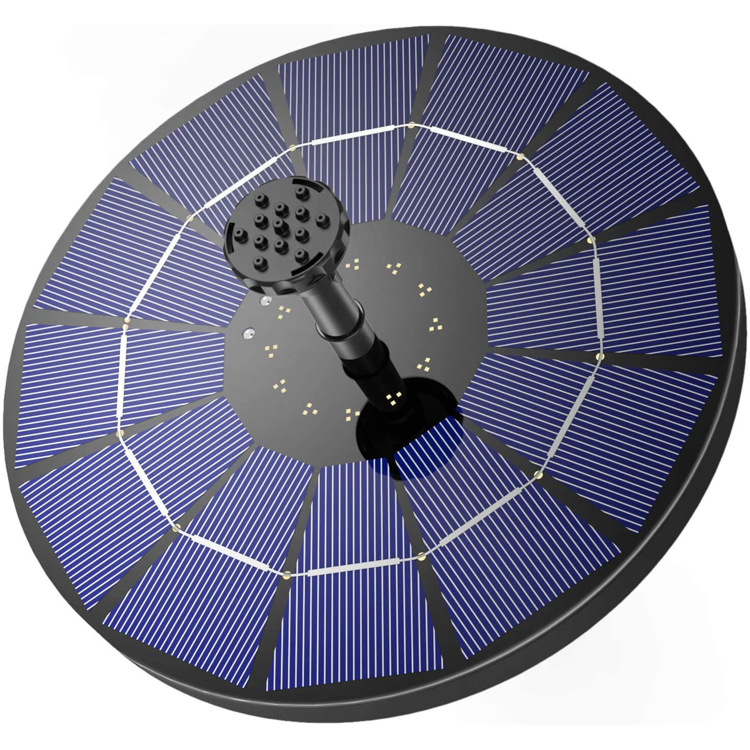 AISITIN 3.5W Solar Fountain Pump