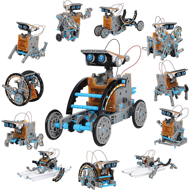 Discovery Kids Solar Robot Kit