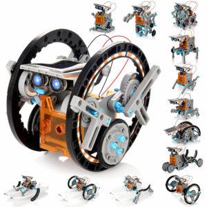 KIDWILL Solar Robot Kit for Kids