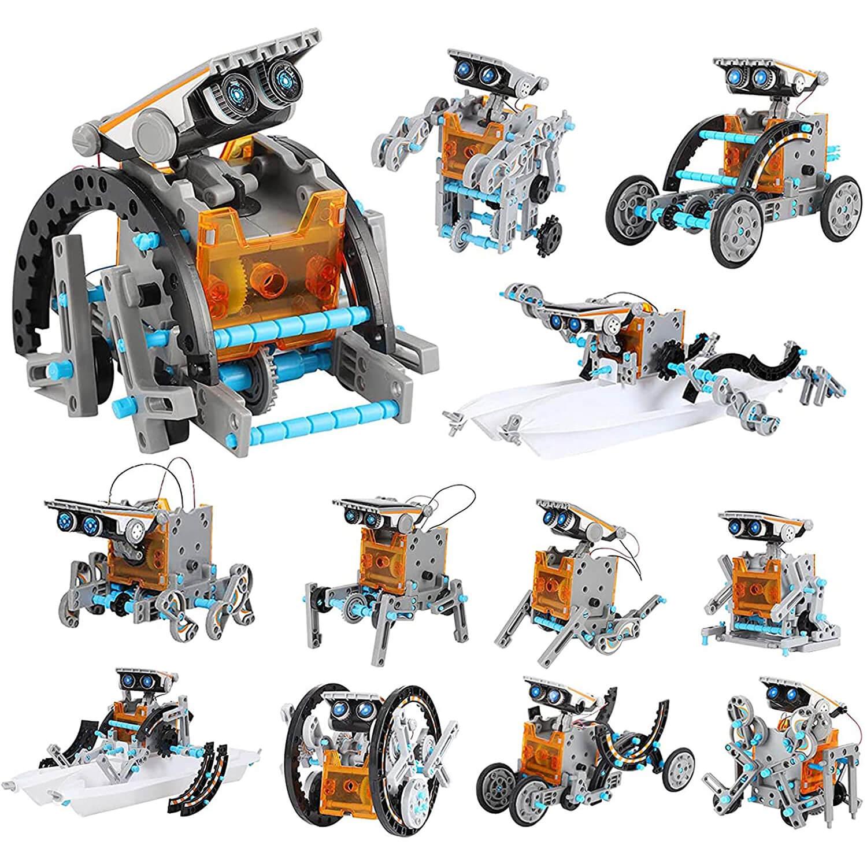 Lucky Doug 12-in-1 STEM Solar Robot Kit