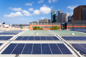 Rooftop Commercial Solar Panels