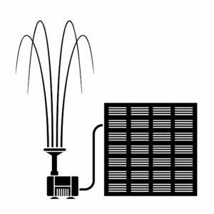 Solar Fountain Water Pump