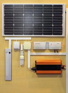 Solar Power System with Solar Inverter