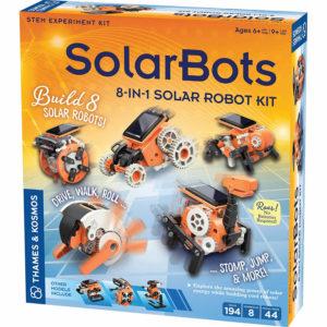 Thames & Kosmos SolarBots 8-in-1 Solar Robot STEM Experiment Kit