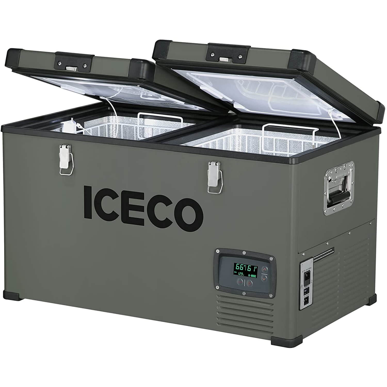 ICECO VL60 Dual Zone Portable Solar Refrigerator