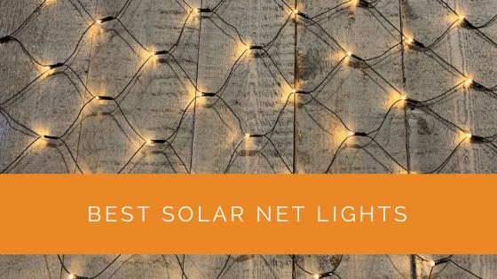 Best Solar Net Lights