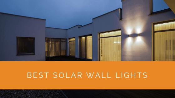 Best Solar Wall Lights