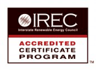 IREC Certificate Program Accreditation Logo